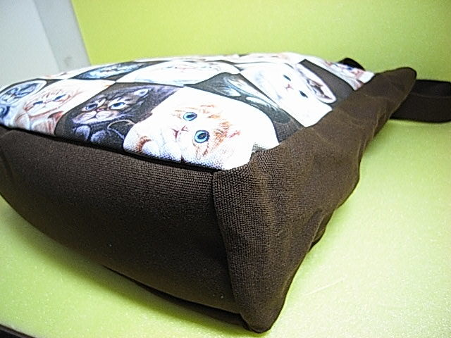 ★大人気!★【 Henry Cats & Friends 】ヘンリーキャッツ&フレンズ キャンパス 猫ネコ ショッピング トートバック ★Cats!★_画像8