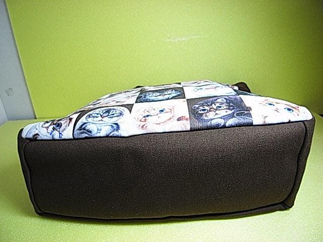 ★大人気!★【 Henry Cats & Friends 】ヘンリーキャッツ&フレンズ キャンパス 猫ネコ ショッピング トートバック ★Cats!★_画像9