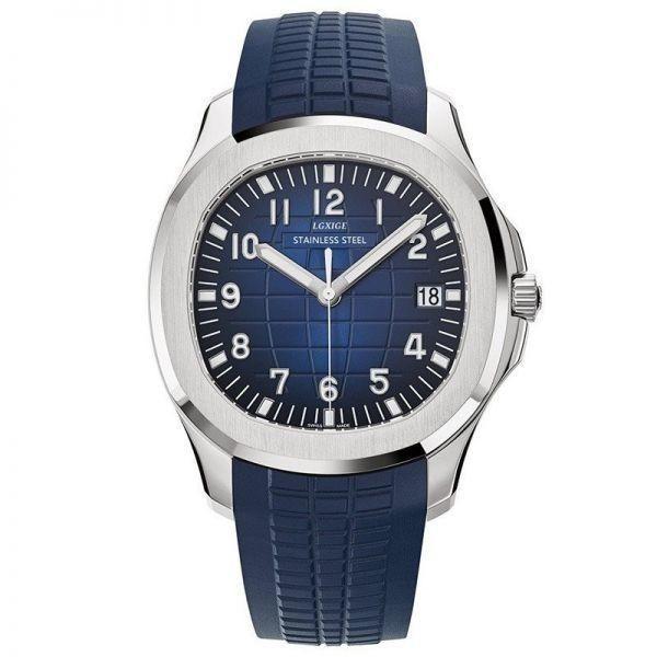 【セール】ysj00262 腕時計 メンズ 高級スポーツクォーツ時計 男性ファッション 防水 シリコーン軍用時計 デザイナー ビジネス LGXIGE_画像1