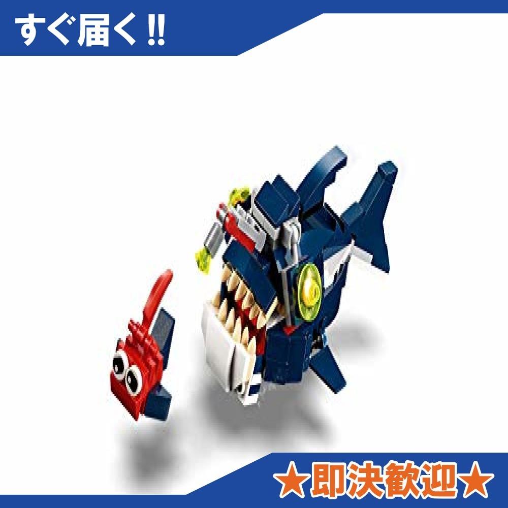 【即決 新品 残り僅か】レゴLEGO) クリエイター 深海生物 31088 知育玩具 ブロック おもちゃ 女の子 男の子_画像7