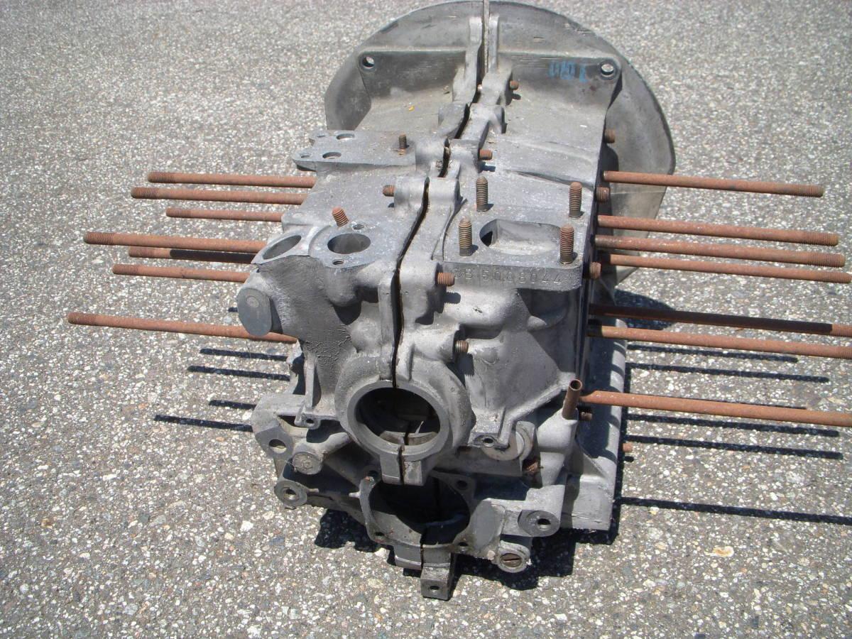 空冷VW ワーゲン タイプ2用純正B型エンジン/クランクケース 検)タイプ1タイプ3ビートル カルマン 69mmストローク_画像1