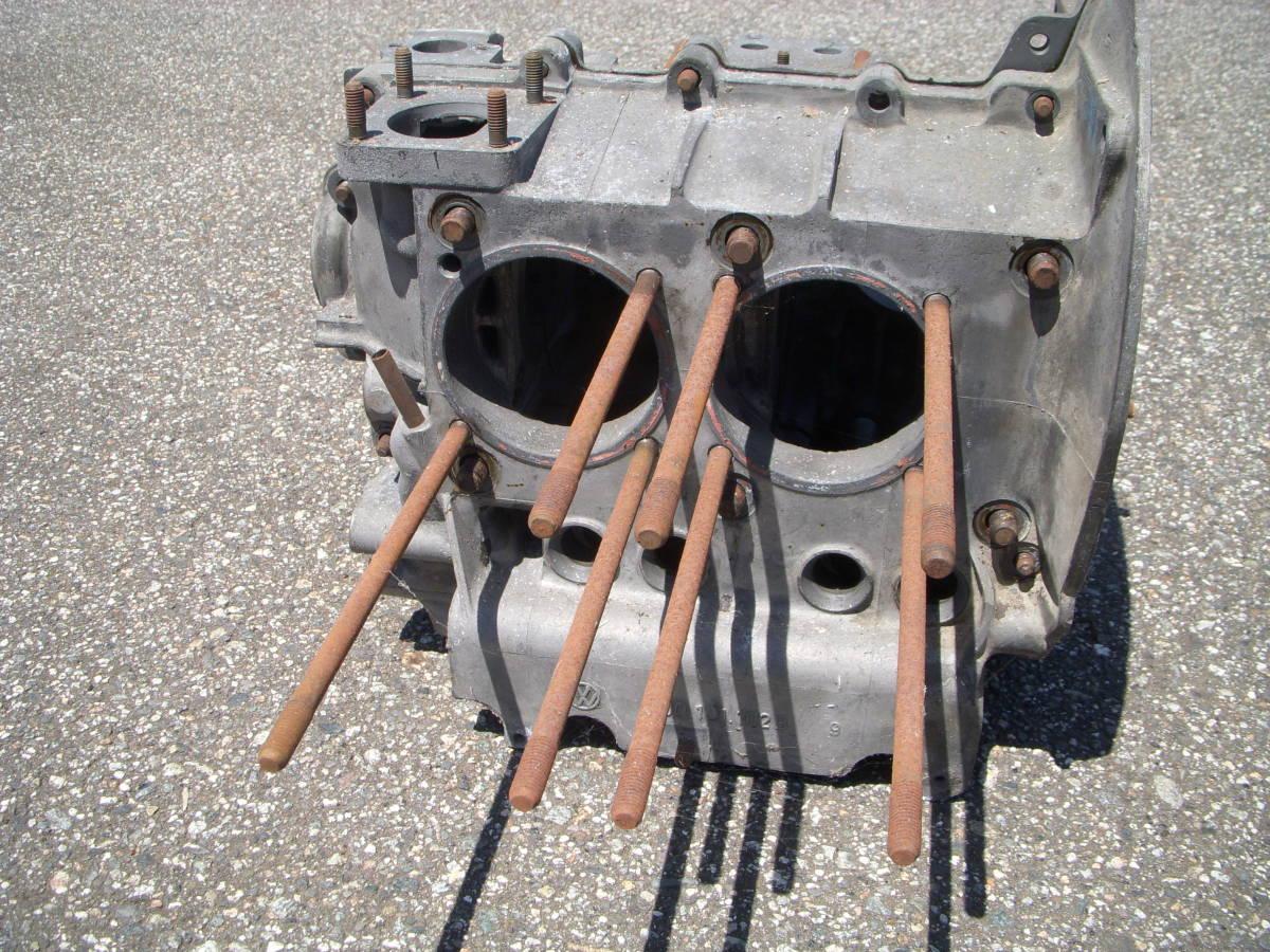 空冷VW ワーゲン タイプ2用純正B型エンジン/クランクケース 検)タイプ1タイプ3ビートル カルマン 69mmストローク_画像2