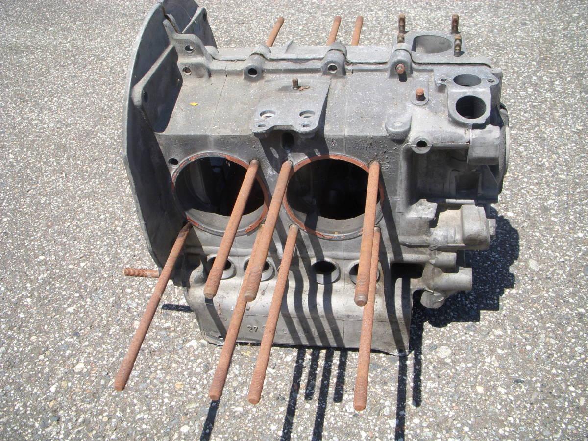 空冷VW ワーゲン タイプ2用純正B型エンジン/クランクケース 検)タイプ1タイプ3ビートル カルマン 69mmストローク_画像4