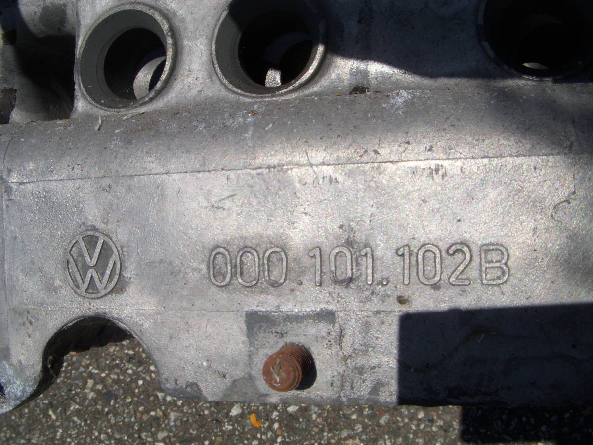 空冷VW ワーゲン タイプ2用純正B型エンジン/クランクケース 検)タイプ1タイプ3ビートル カルマン 69mmストローク_画像9