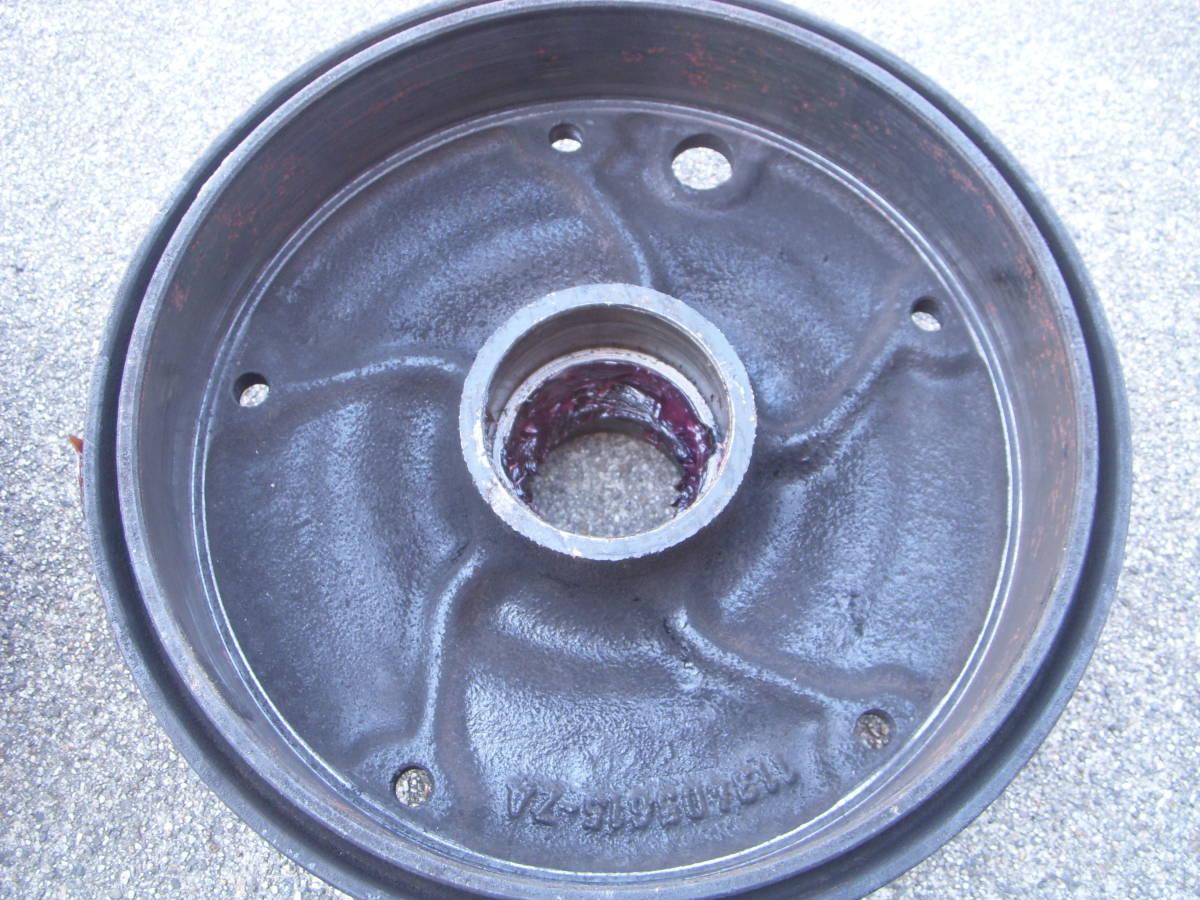 空冷VW ワーゲン タイプ1ビートル・カルマンギア 1958~1965 ON キングピンタイプ5Lug/5穴 フロントブレーキドラム左右セット_画像4
