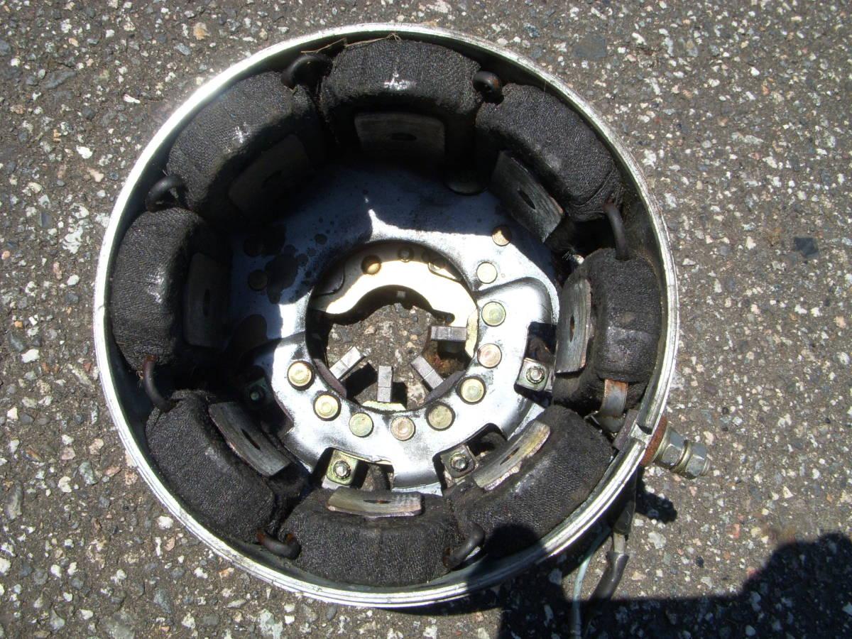 カワサキ B1 125cc フライホイール/ジェネレーターコイル コンデンサー・コンタクトブレーカー/ポイント付き_画像3