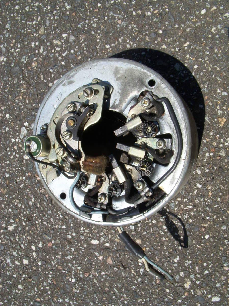 カワサキ B1 125cc フライホイール/ジェネレーターコイル コンデンサー・コンタクトブレーカー/ポイント付き_画像1