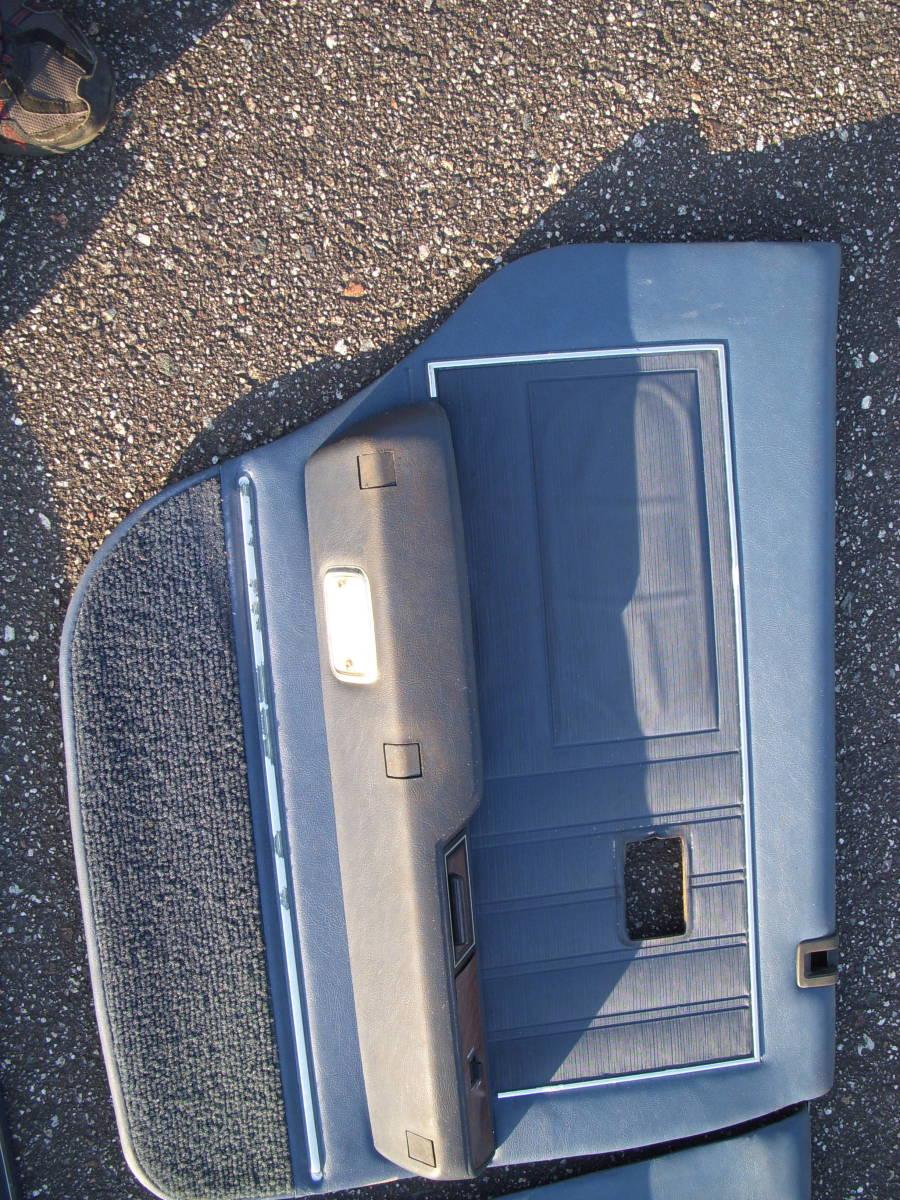 トヨタ クラウンMS100 純正ドアパネル左右前後セット パワーウインドスイッチ付き ベンツマスク/キャデラックマスク_画像5