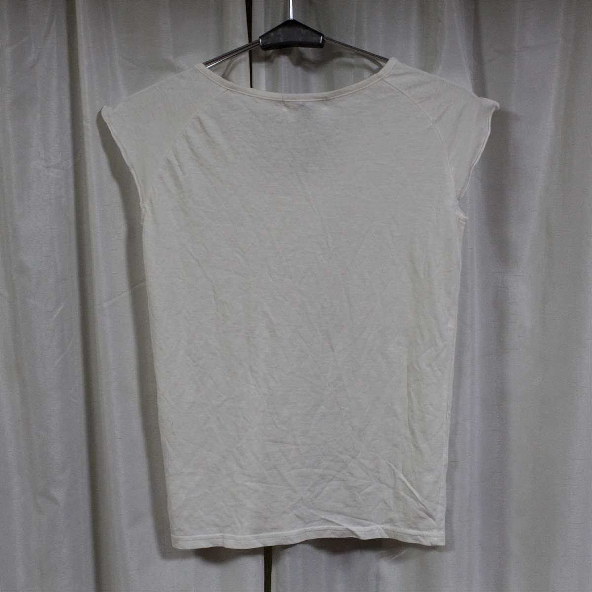 パシフィックコースト PACIFIC COAST レディース ノースリーブ Tシャツ アイボリー Mサイズ 新品 トップス_画像3
