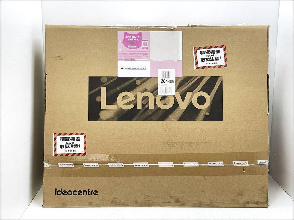 徳山)【未使用/内装未開封】Lenovo 23.8型 液晶一体型デスクトップPC IdeaCentre AIO350i F0EU003NJP 2020年 0135 B210508Y06B HE08A