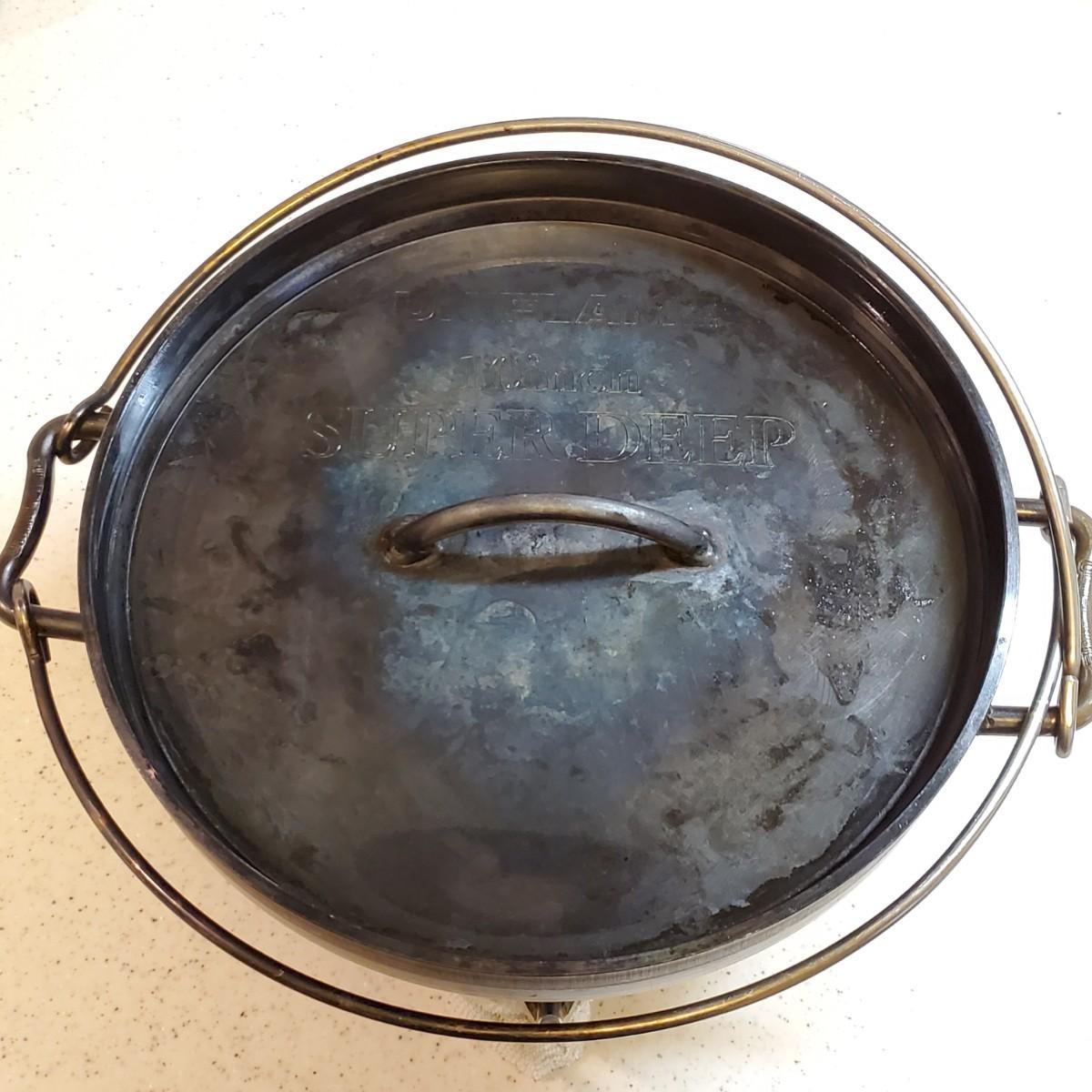 UNIFLAME ユニフレーム ダッチオーブン 10インチ スーパーディープ