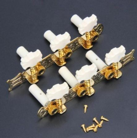 Mp4333:6個3L/3R クラシックギター 弦ボタン チューニングペグ ギターパーツ & アクセサリー_画像3