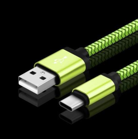 Mp4555:USBタイプCケーブル 急速充電バッテリー充電器ワイヤーコード_カラー(5)
