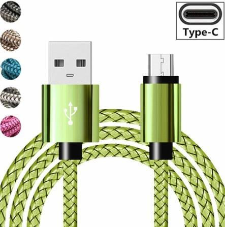 Mp4555:USBタイプCケーブル 急速充電バッテリー充電器ワイヤーコード_画像1