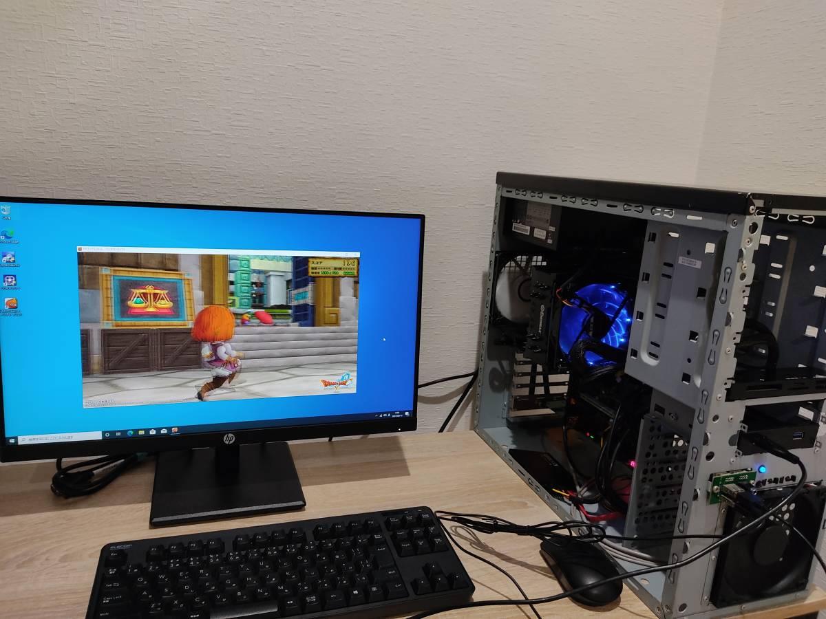 【快速快適!◆ゲーミングPC】 ドスパラ GALLERIA Core i7-3770K/SSD240GB/16GB/Win10 pro/デュアルモニター/電源800W/無線LAM/拡張性充実