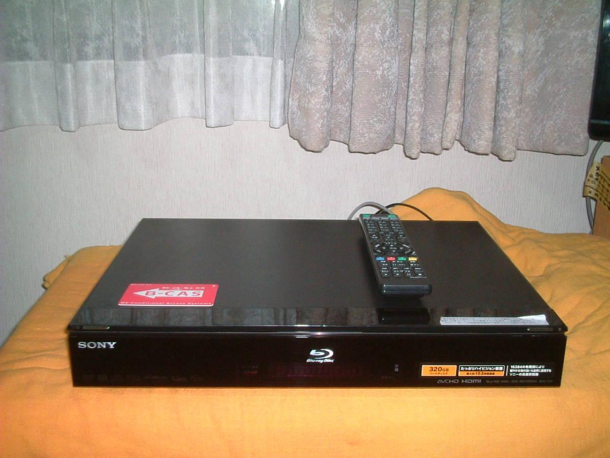 1ヶ月保証 ソニー BDZ-T55  HDD/DVD/ブルーレイ/ レコーダー 新品リモコン B-CASカード付き_画像1