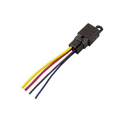 4線(4極)/360W以下/消費電流150mA エーモン リレー 4線(4極) DC12V・360W(30A) 3236_画像1