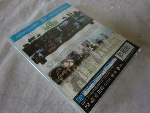 未開封品【同封有】送160円 Blu-ray 輸入盤/ブルーレイ/日本語字幕 荒野の七人 マグニフィセント・セブン THE MAGNIFICENT SEVEN CLBD-063_画像5