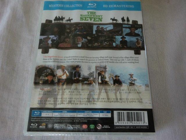 未開封品【同封有】送160円 Blu-ray 輸入盤/ブルーレイ/日本語字幕 荒野の七人 マグニフィセント・セブン THE MAGNIFICENT SEVEN CLBD-063_画像2