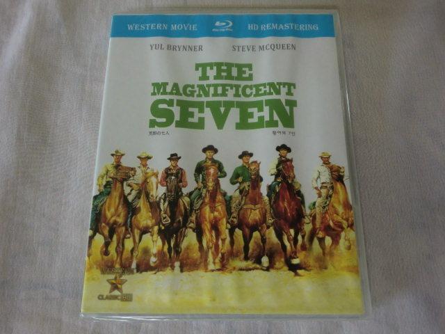 未開封品【同封有】送160円 Blu-ray 輸入盤/ブルーレイ/日本語字幕 荒野の七人 マグニフィセント・セブン THE MAGNIFICENT SEVEN CLBD-063_画像1