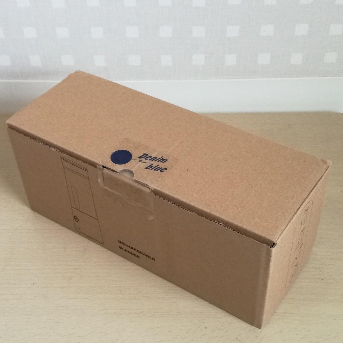 ジューサー ミキサー 小型 ジュースミキサー 400mlボトル USB充電タイプ ミニブレンダー (ブルー) 箱付属