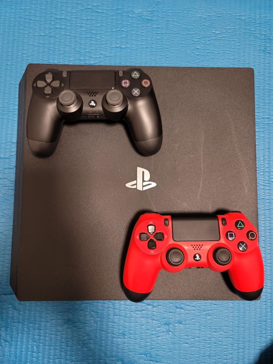 PS4 pro  PlayStation4 コントローラー2個 箱あり