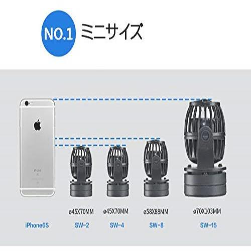 ☆☆ METIS ウェーブポンプ 水流ポンプ 水中ポンプ 水槽ポンプ アクアリウム ワイヤレス 回転式 水槽循環ポンMLXL_画像5