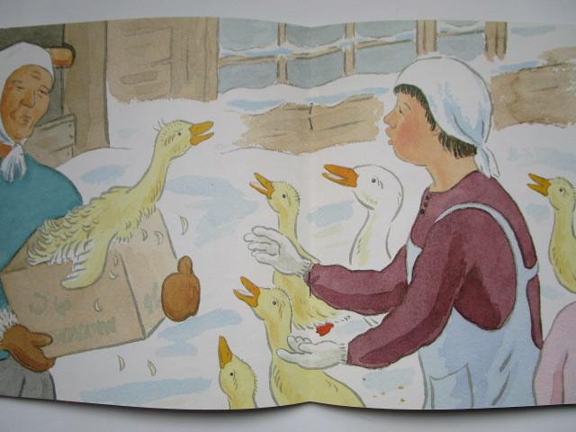 こどものとも年中向き あひるのガーコ 坂本ツル ほりえみちを 福音館書店