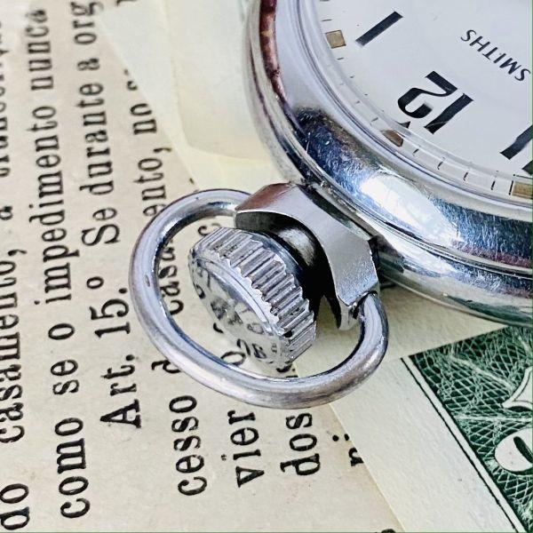 【高級懐中時計】美品 スミス 52mm メンズ レディース ビンテージ アナログ 手巻き 紳士の国 英国 OH済み 希少_画像6