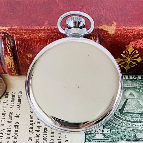 【高級懐中時計】美品 スミス 52mm メンズ レディース ビンテージ アナログ 手巻き 紳士の国 英国 OH済み 希少_画像7