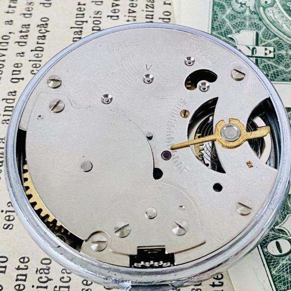 【高級懐中時計】美品 スミス 52mm メンズ レディース ビンテージ アナログ 手巻き 紳士の国 英国 OH済み 希少_画像8