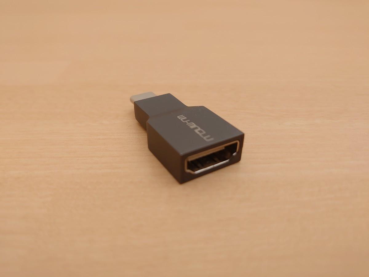 【ほぼ未使用】Type C to HDMI変換アダプター