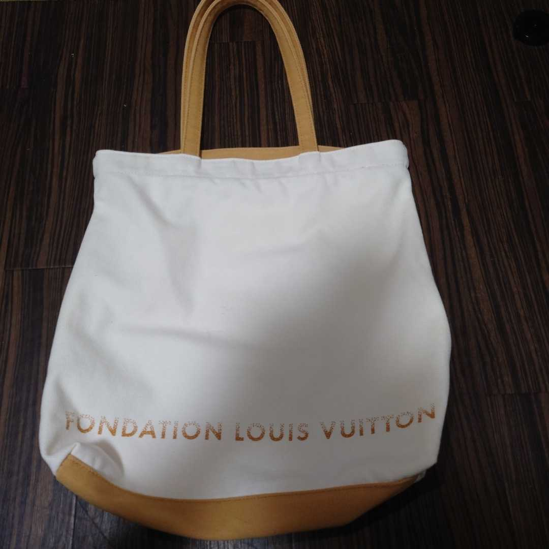 LOUIS VUITTON ルイヴィトン トートバッグ ルイヴィトン美術館 _画像1