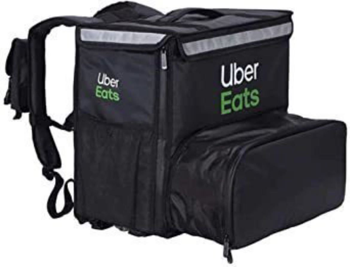 UberEats リュック 純正品 保冷バッグ Delivery Bag ロゴ入 黒 ウーバーイーツ デリバリー 配達