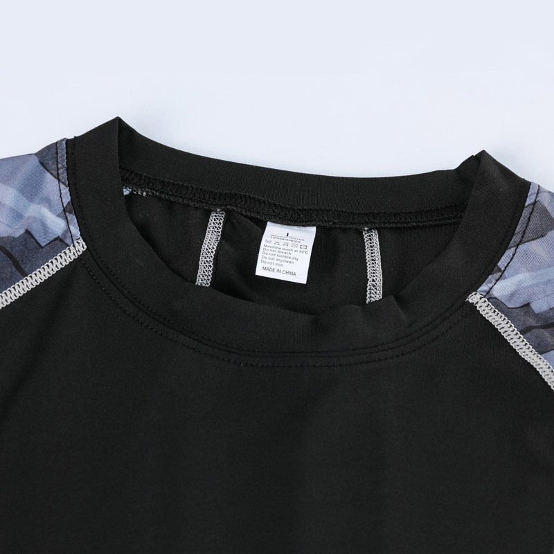 コンプレッションウエア No,10 Lサイズ メンズ 加圧インナー アンダーシャツ トレーニングウエア スポーツウエア 長袖 吸汗 速乾
