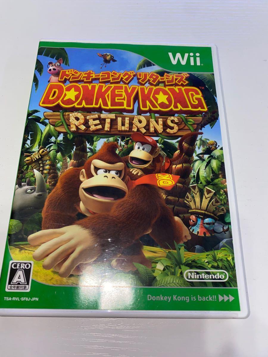 ドンキーコングリターンズ Wii 中古品