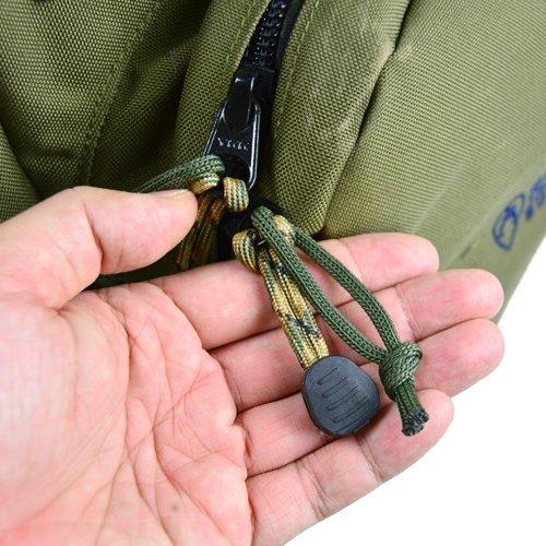 Bush Craft(ブッシュクラフト) ファイヤーコードジッパープル(Fire Cord Zipper Pulls)フォリッジ_画像3