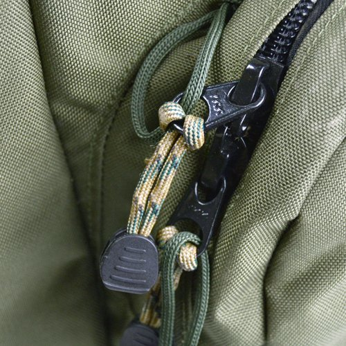 Bush Craft(ブッシュクラフト) ファイヤーコードジッパープル(Fire Cord Zipper Pulls)フォリッジ_画像4