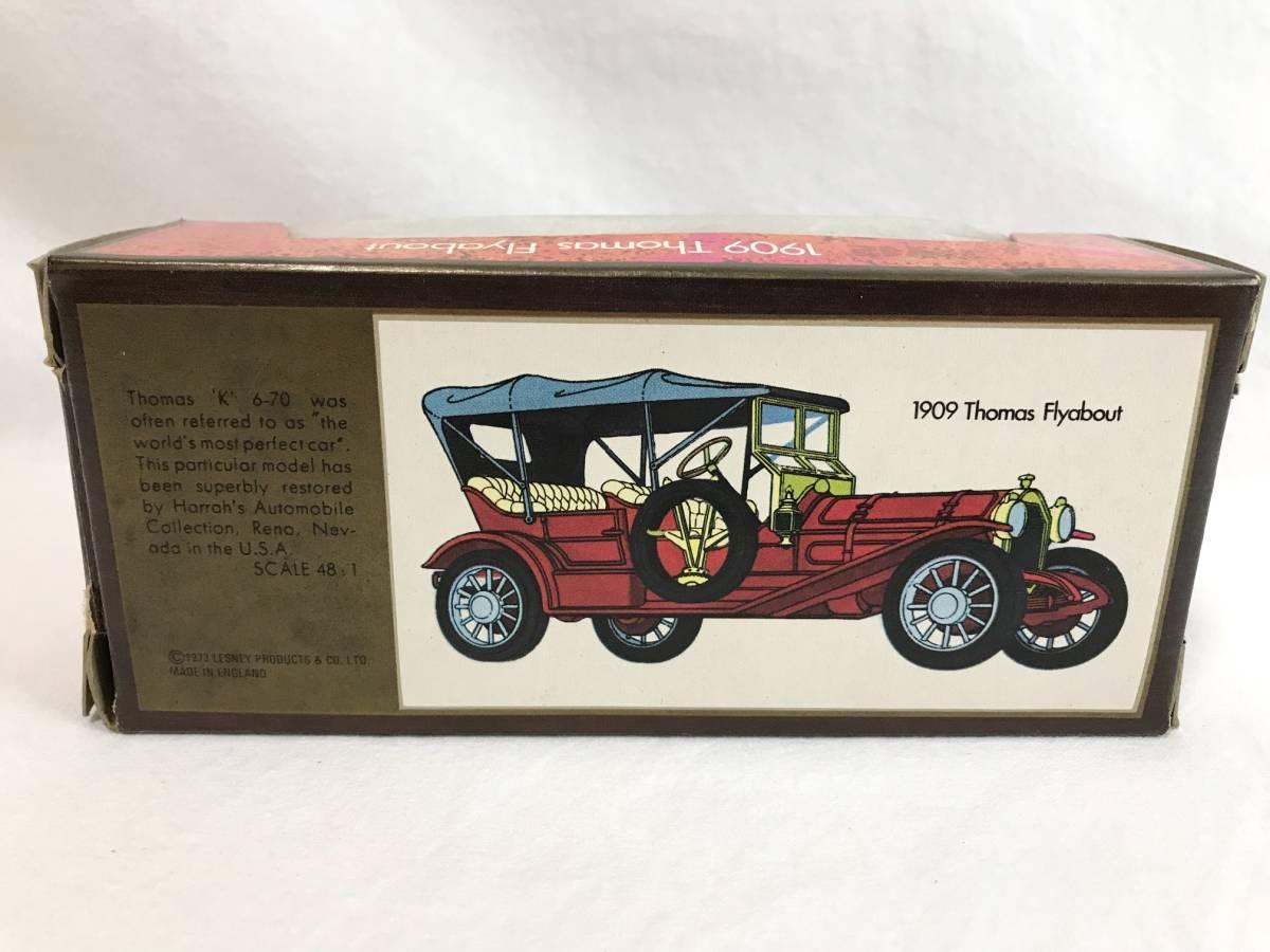 Matchbox-Y 1909 Thomas Flyabout トーマス 箱付 1/48 イギリス製 ミニカー 模型_画像4