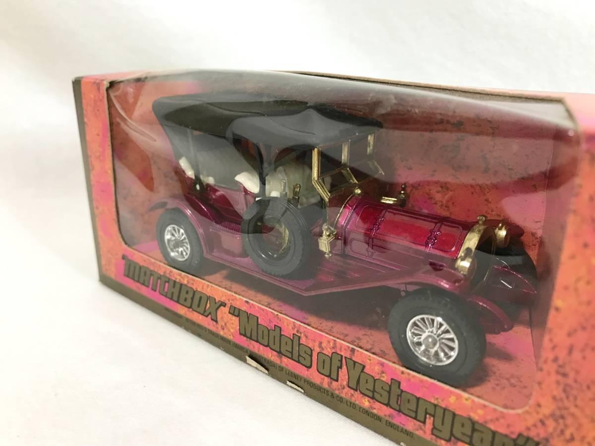 Matchbox-Y 1909 Thomas Flyabout トーマス 箱付 1/48 イギリス製 ミニカー 模型_画像7