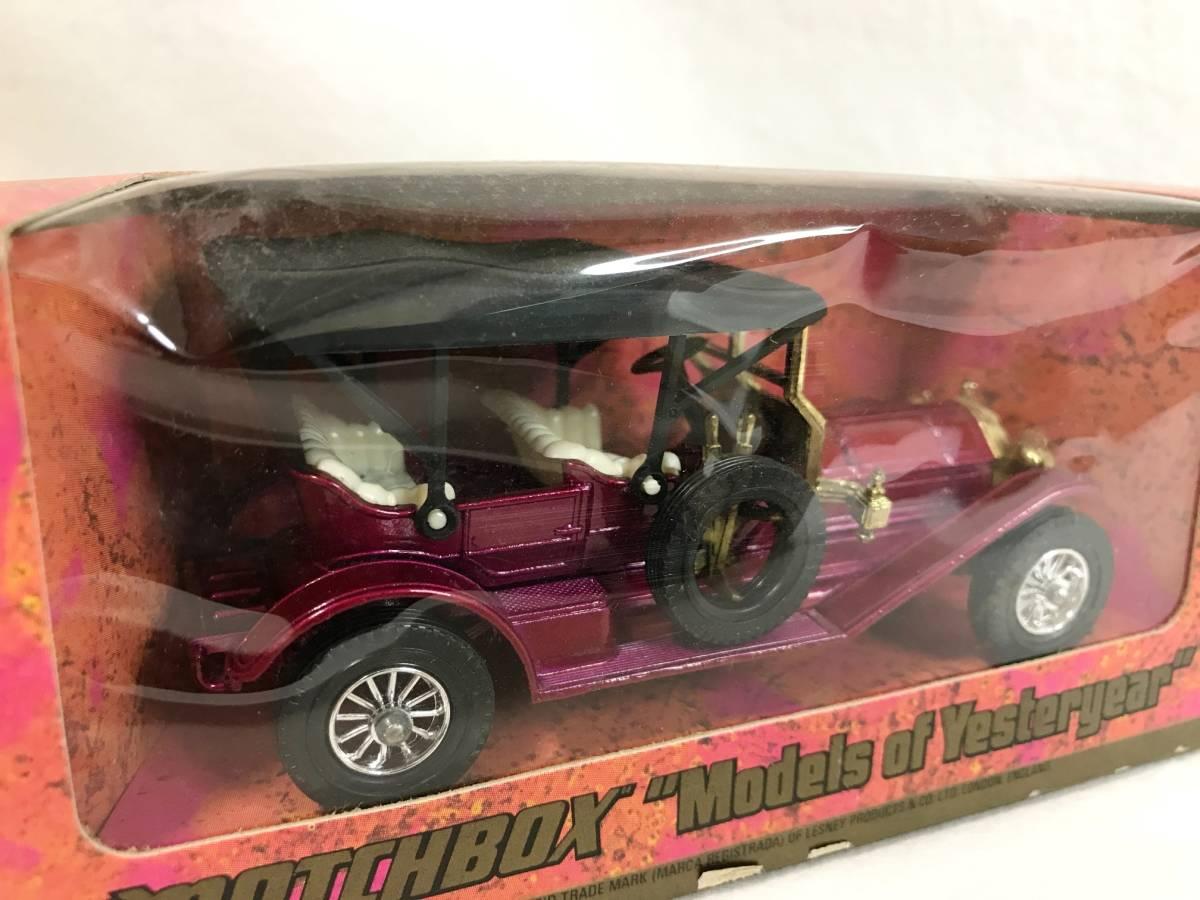 Matchbox-Y 1909 Thomas Flyabout トーマス 箱付 1/48 イギリス製 ミニカー 模型_画像6