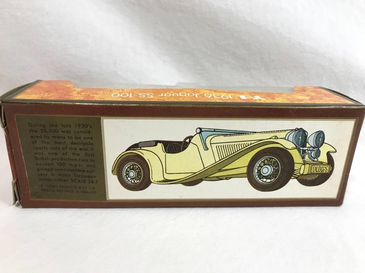 Matchbox ジャガー JaguarSS-100 1936 1/38 マッチボックス ミニカー 模型_画像7