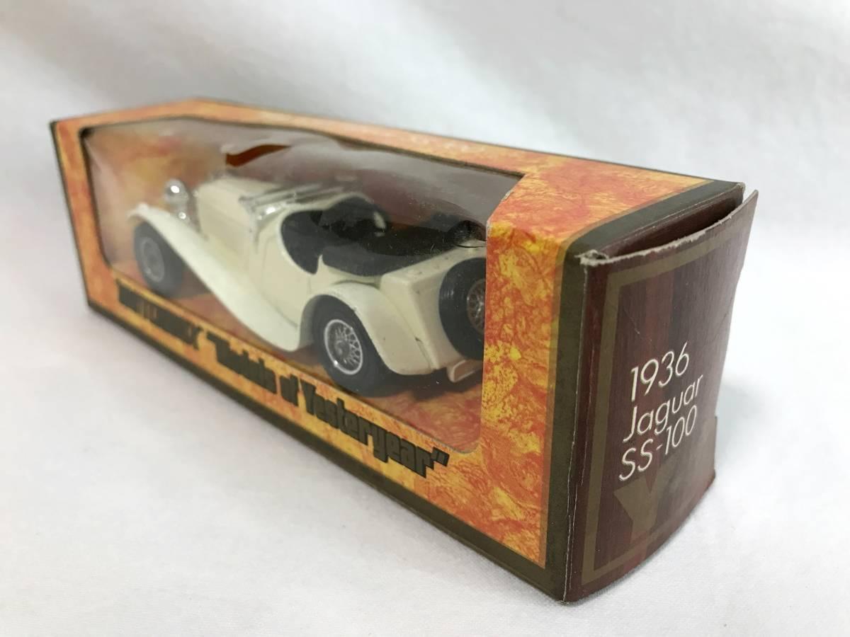 Matchbox ジャガー JaguarSS-100 1936 1/38 マッチボックス ミニカー 模型_画像3