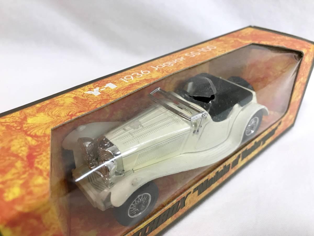 Matchbox ジャガー JaguarSS-100 1936 1/38 マッチボックス ミニカー 模型_画像5