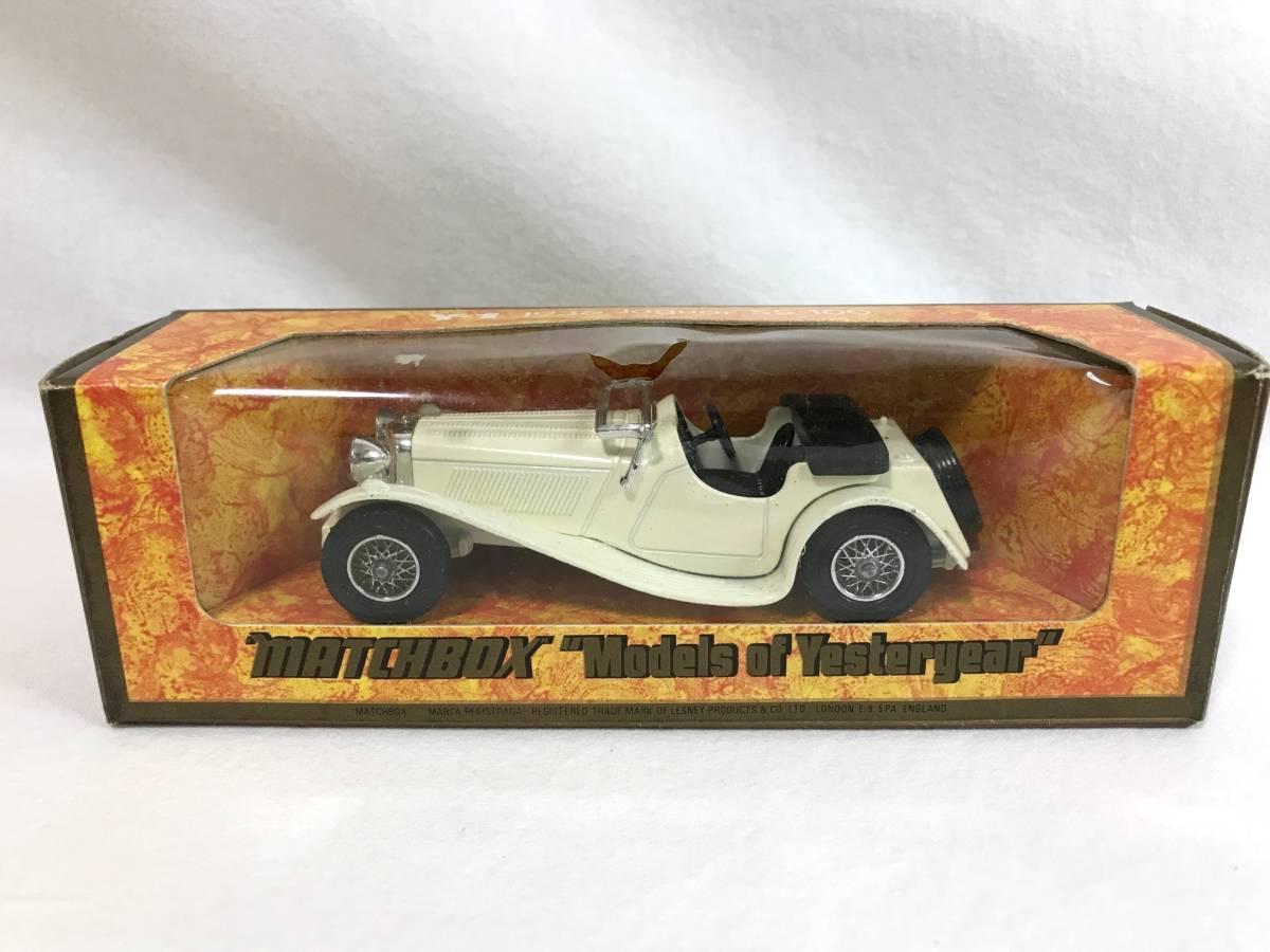 Matchbox ジャガー JaguarSS-100 1936 1/38 マッチボックス ミニカー 模型_画像1