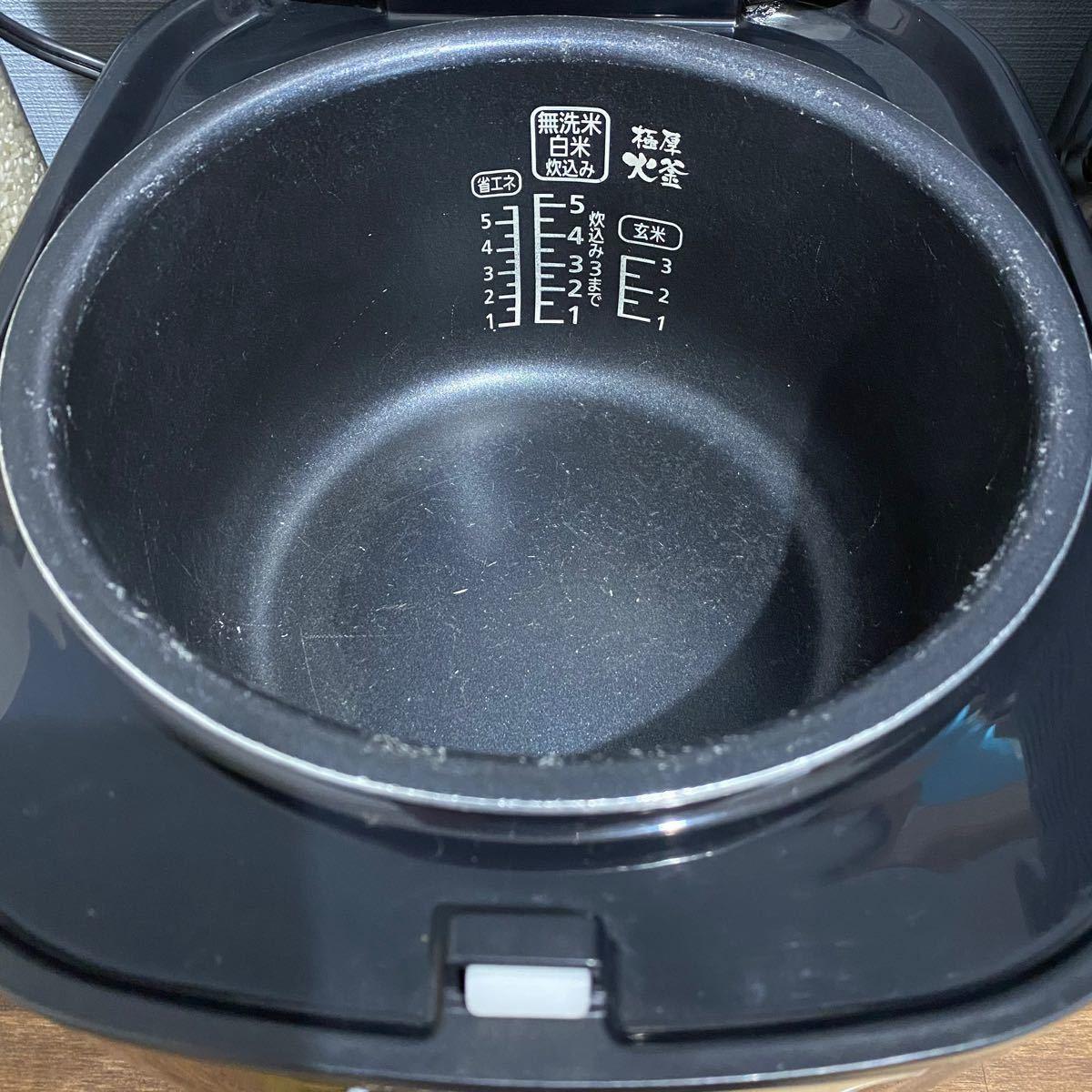 アイリスオーヤマ 炊飯器 マイコン式 5.5合 銘柄炊き分け機能付き