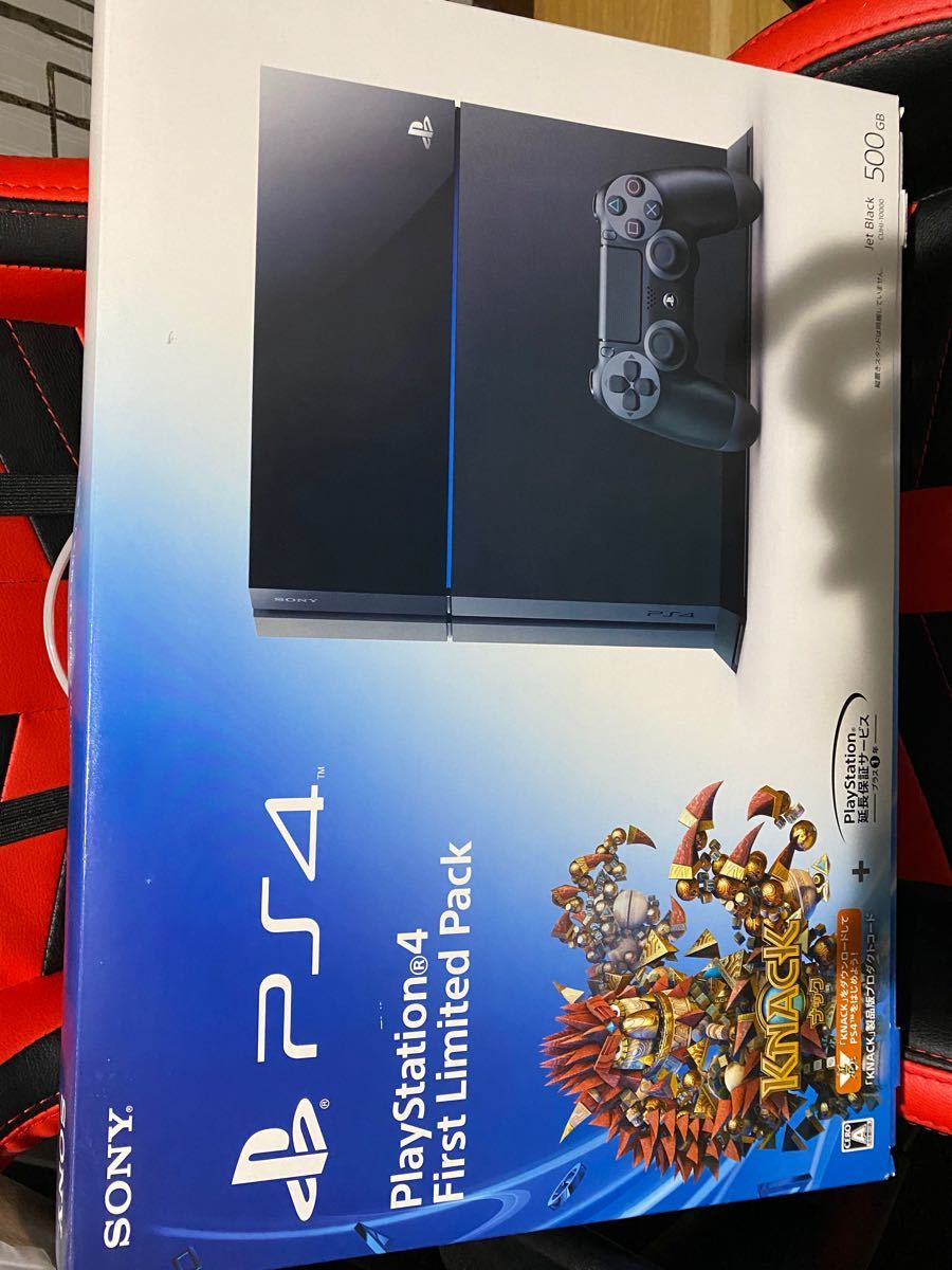 PlayStation4 First Limited Pack 500GB ジェット・ブラック CUHJ-10000