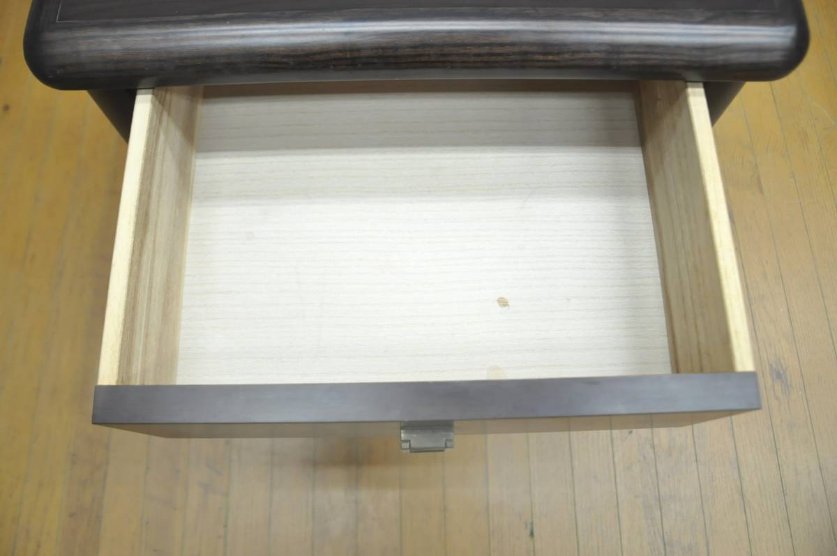 ♪♪d158-2 フランスベッド ナイトテーブル W510×D368×H530 サイドテーブル 木製 天然木 引き出し 収納棚 チェスト 寝室 お洒落♪♪♪_画像4
