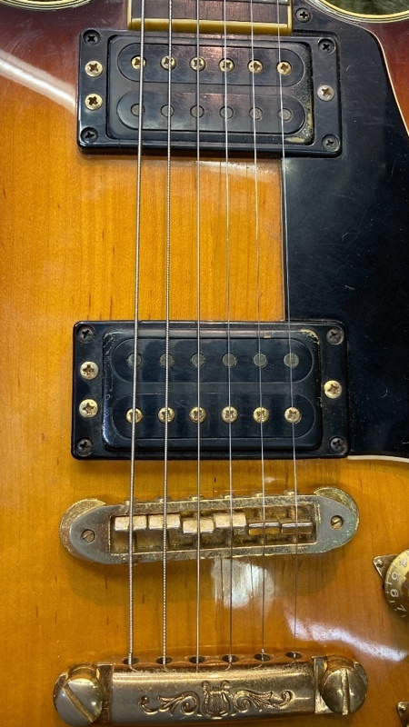 u46012 YAMAHA [SG-1000] 中古 エレキギター ロッド残無し 現状少し順反り_画像8