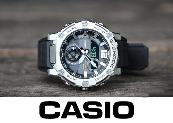 【1円】新品正規品G-SHOCK ソーラー G-STEEL カシオ Gショック Gスチール CASIO 腕時計 メンズ タフソーラー 2020年 最新作 スマホリンク銀